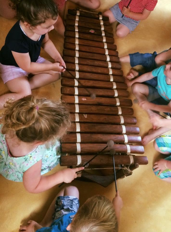Muzieklessen voor jou en je kleintje